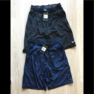 🆕🌺2 Nike dry fit shorts. NWT.